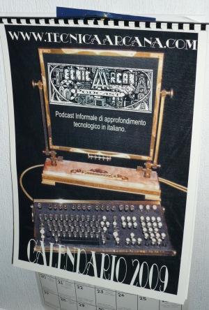 Il Calendario 2009 di Tecnica Arcana