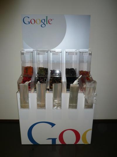 Il distributore di caramelle di Google