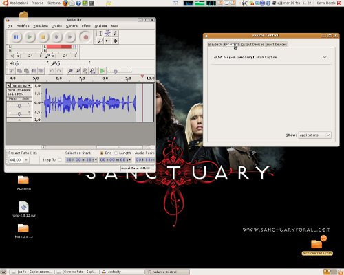 Audacity e PulseAudio finalmente vanno d'accordo in Ubuntu!