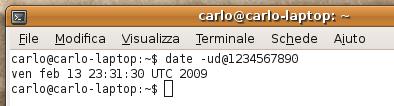 Unix Time 1234567890