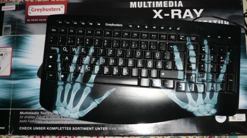 La tastiera a raggi X