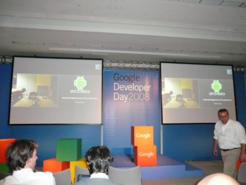 La presentazione di Android è stata in videoconferenza